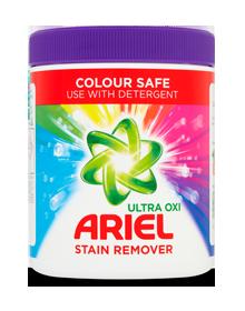 Ariel Ultra Oxi Colour Safe Stain Remover Powder 1kg