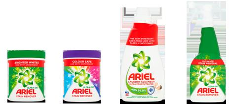 Ariel Product Range