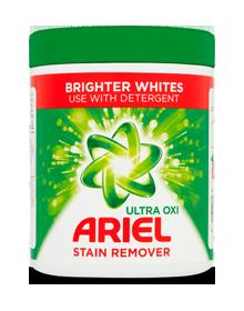 Ariel Ultra Oxi Brighter Whites Stain Remover Powder 1kg