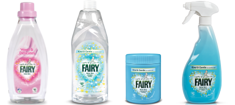 Fairy Product Range